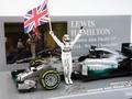Mercedes ALG Petronas F1 Team 2014 L Hamilton Formule 1 1/43