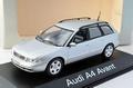 Audi A4 Avant silver zilver 1/43