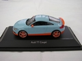 Audi TT Coupe Gulf edition Light blue orange Limited edition 1/43