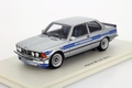 BMW Alpina B6 2,8  E21 silver blue striping  1/43