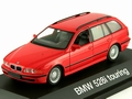 BMW 528 i Touring  red  rood  1/43