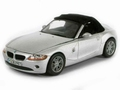 BMW Z4 soft top cabrio Silver  zilver 1/43