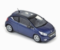 Peugeot 208 Blue virtuel  1/43
