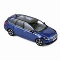 Peugeot 308 SW GT Magnetic Blue 2014 1/43