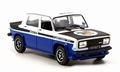 Simca 1000 Rallye 2 SRT Blue White  Shell 1/43