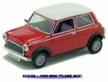 Mini cooper flame red 1990 1/43