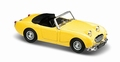 Austin Healey Sprite  1958 Geel Yellow 1/43