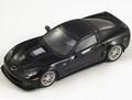 Chevrolet Corvette ZR1  2010 Black Zwart 1/43
