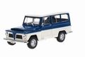 Jeep Willy's Rural Blauw/wit   Blue/white1968 1/43