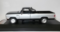 Dodge Ram 1987 Pick up Blauw Zilver   Blue Silver 1/43