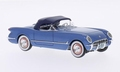 Chevrolet Corvette C1 1953 Blue + Dark blue soft top 1/43
