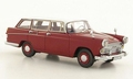 Austin Cambridge Travelier Dark red / White 1/43