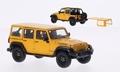 Jeep Wrangler Unlimited Moab edition Geel 1/43