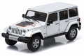 Jeep Wrangler Unlimited Mojave White  Wit 1/43