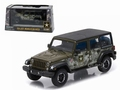 Jeep Wrangler Unlimited US Army Green  Groen 1/43