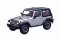 Jeep Wrangler Rubicon 10 th Anniversary Silver 1/43
