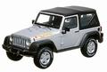 Jeep Wrangler Islander Zilver Silver  1/43