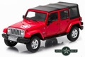 Jeep Wrangler Unlimited Freedom Edition  Oscar Mike Red 1/43