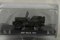 Jeep Willis 1947  Army Green   Groen  1/43