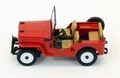 Jeep Willy's CJ3B 1953 Red Rood 1/43