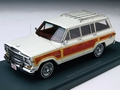 Jeep Grand Wagoneer White /  Wood 1/43
