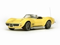 Chevrolet Corvette 1968 Cabrio Convertible Safari Yellow  1/43