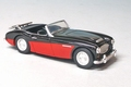 Austin Healey 3000  Black Red  Zwart rood Cabrio 1/43