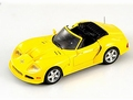 Marcos LM 500 Convertible Cabrio 1995 Yellow  Geel 1/43