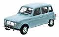 Renault 4 L  1961 Licht blauw   Light Blue 1/43