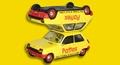 Renault 5 Pattex Geel  Yellow  1/43