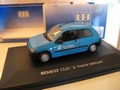 Renault Clio France Telecom Licht Blauw  Light Blue 1/43