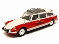 Citroen  ID 19 Break Radio tele Luxemburg Wit Rood 1/43