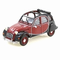 Citroen 2 pk 2 cvCharleston Bordeaux Zwart  1/43