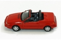 Volvo 480 Turbo Cabriolet  1990 Red  Rood 1/43