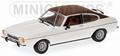 Ford Capri Diamant Wit 1/43