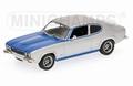 Ford Capri RS 2600  1972 Blue silver 1/43