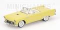Ford Thunder bird 1955 Yellow Geel 1/43