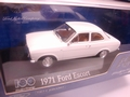 Ford Escort 1971 White Wit  1/43