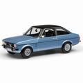 Ford Escort MK 2 1?30 Ghia Astro silver zilver 1/43