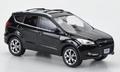 Ford Escape  - Kuga  Black  Zwart 1/43