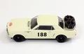 Ford Mustang # 188 Rallye Monte Carlo 1965 Beige 1/43