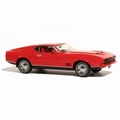 Ford Mustang Mach 1 Red  Rood 1971 1/43