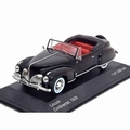 Ford Lincoln Continental 1939 Zwart Black 1/43