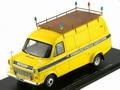Ford Transit  1974 Geel Yellow 1/43