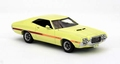 Ford Gran Torino Coupe Sport  Yellow  Geel 1/43