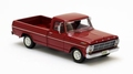 Ford F - Series Red Rood Pick Up  1/43