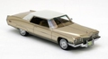 Cadillac Coupe de Ville Gold White Roof 1/43