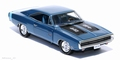 Dodge Charger R/T 1970  Blue Blauw 1/43