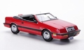 Chrysler Le Baron Convertible Cabrio  Red  Rood 1/43