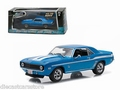 Chevrolet Yenko Camaro 1969 Blue Blauw Fast and Furious 1/43